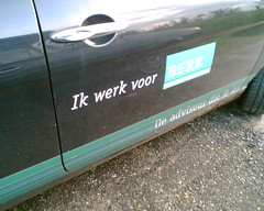 Ik werk voor BERK. Photo hosted at Flickr