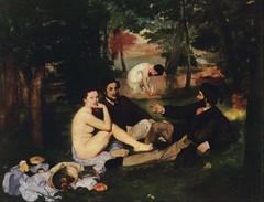 Merienda campestre, (1863) de Manet