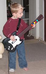 David Plays Guitar Hero