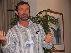 John Christenson presenting