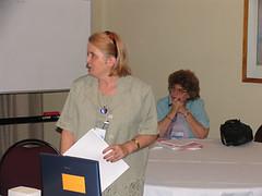 Wendy Zammit presenting