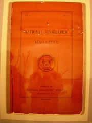国家地理展览 第一期封皮