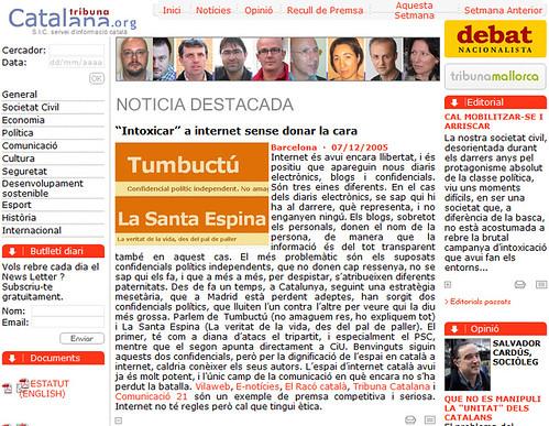 tribuna catalana