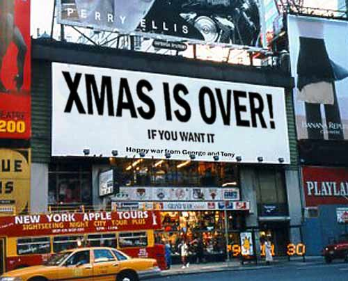 xmas is over