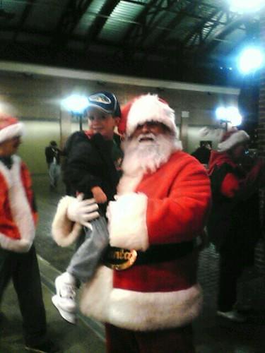 Jake and Santa