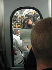 Business Class on italian train