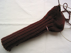 Brown Socks - sock 2
