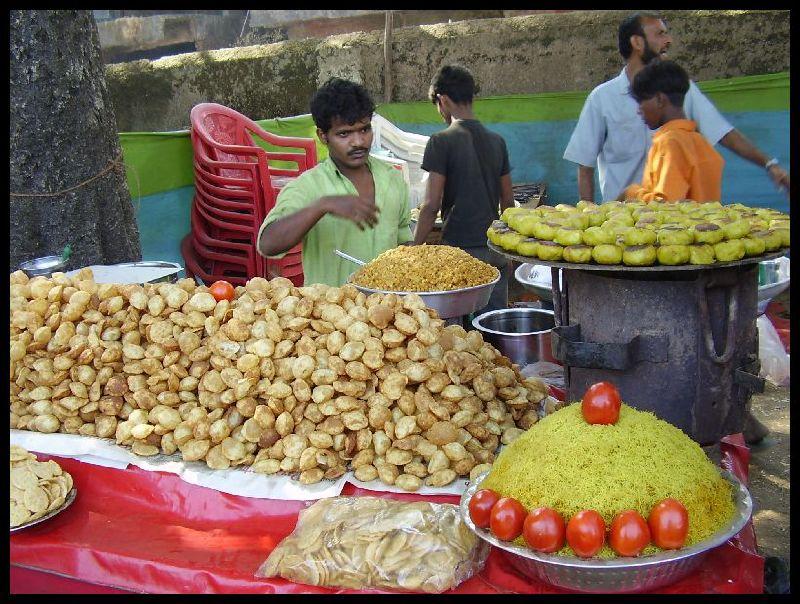 Paanipuri- Ragda Stall