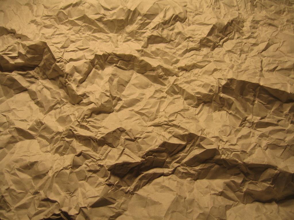 atelier marouflash  papier froisser