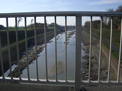 Ein wenig Wasser im Dortmund-Ems-Kanal