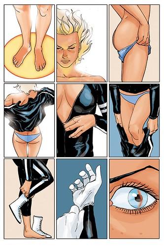 Pagina 4 del nº1 de Triggergirl6 (Phil Noto)