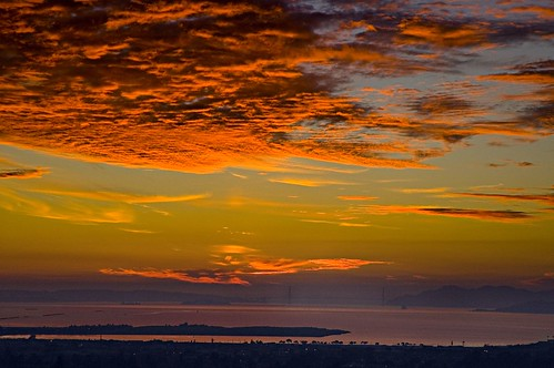 Bay Sunset Cloud
