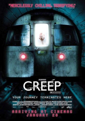 Poster for London Underground Horror Film Creep