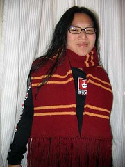 HP POA scarf from atypicallyknit