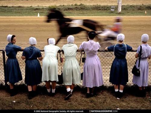 Amish chics
