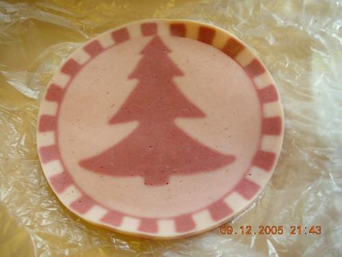 Christmas tree ham!