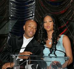 Russell and Kimora Lee Simmons