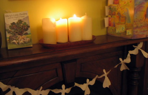 advent candles #3