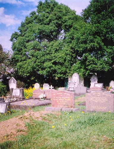 St Paul's graveyard