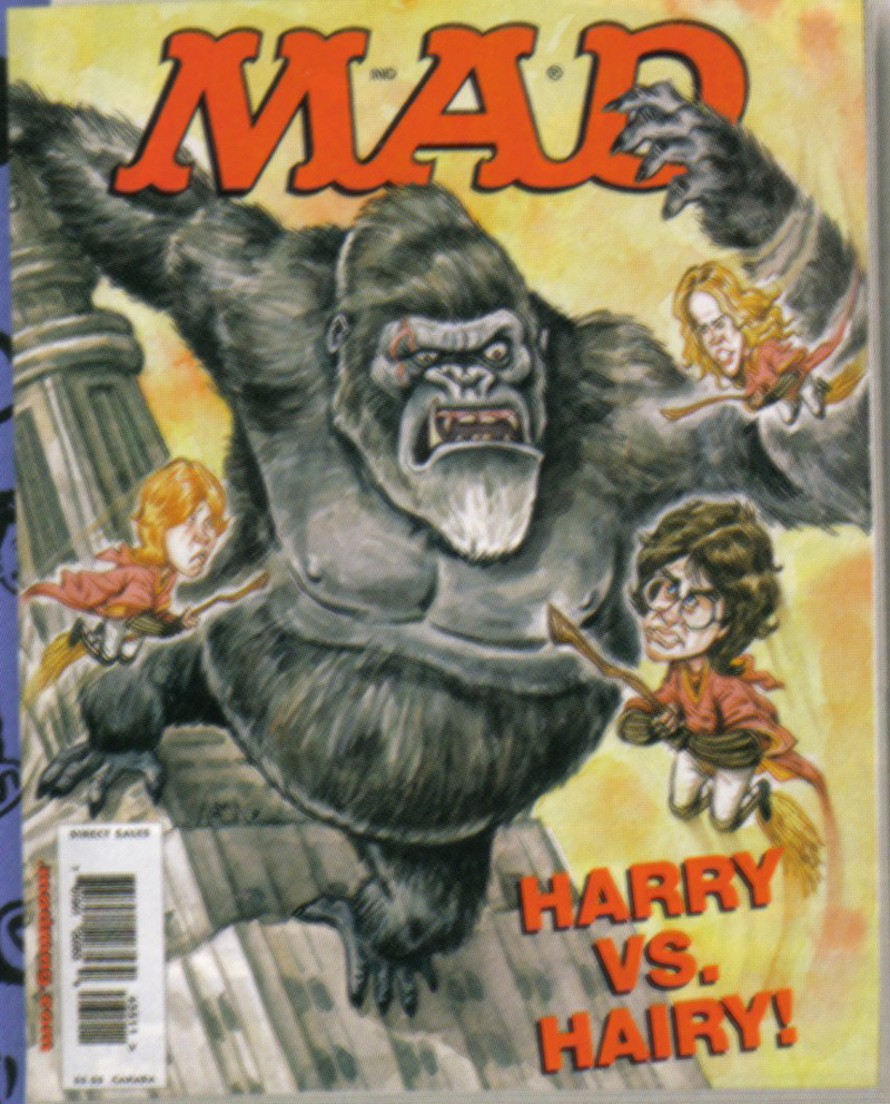 MAD Harry & Hairy Cover