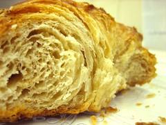 pretzel croissant innards
