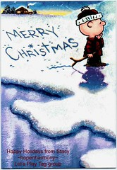PLEASE SIGN: THE UNIVERSAL FLICKR CARD: Charlie Brown Christmas