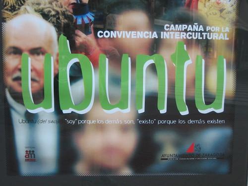 Ubuntu en Zaragoza: detalle