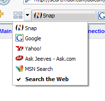 20 - Quick Tabs select
