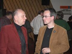 Walter Riester (SPD) und Henning Schürig (Grüne)