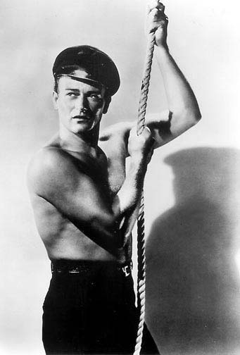 John Wayne was SO GAY