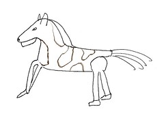 Pantomine Horse