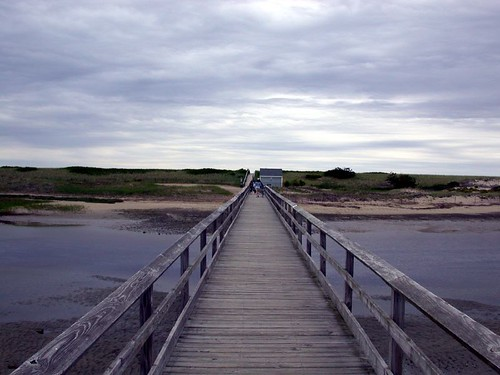 Bridge to the Dunes near Ogunquit Maine