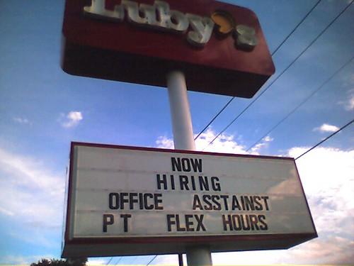 Luby's is hiring...