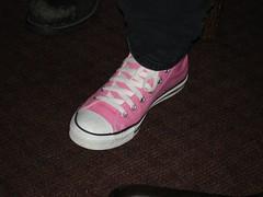Dana's shoe