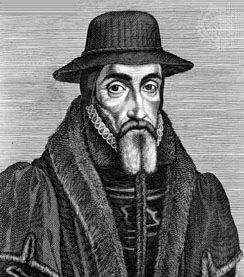 Image: John Foxe, compiler of Actes and Monuments