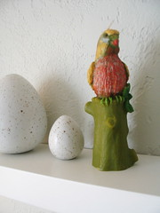 the bird candle