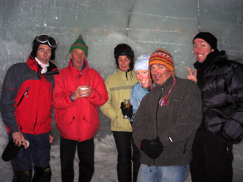 hot drinks in the Ice Bar