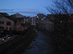Stockbridge in Edinburgh at Dusk (3)