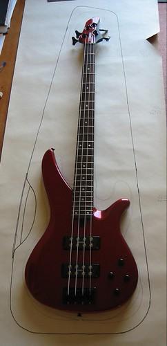 Calder Bass sketch 1