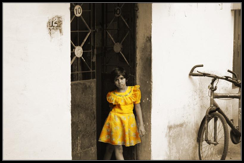 Little girl from Chennai