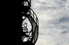 Spiral Stair Silhouette