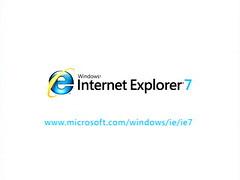 Internet Explorer 7 ad