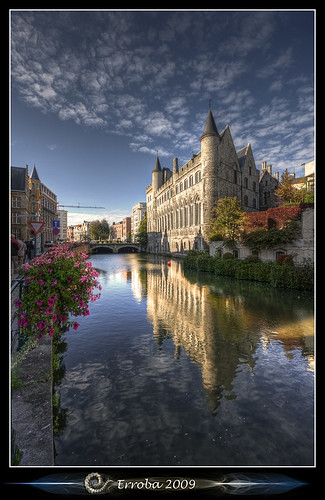 Gerard Duivelsteen :: 13th Century Early Gothic Castle :: Gent :: Belgium photo by Erroba