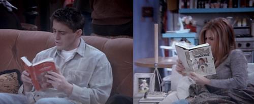 Livros-Friends-Joey-e-rachel