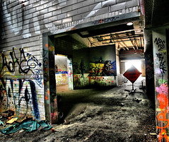 wet paint photo by bob merco