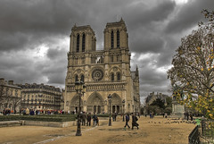 Paris, Notre Dame nublado - HDR photo by R.Duran