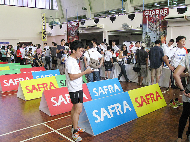 SAFRA Singapore Bay Run & Army Half Marathon 2009 (7) | Flickr - Photo ...