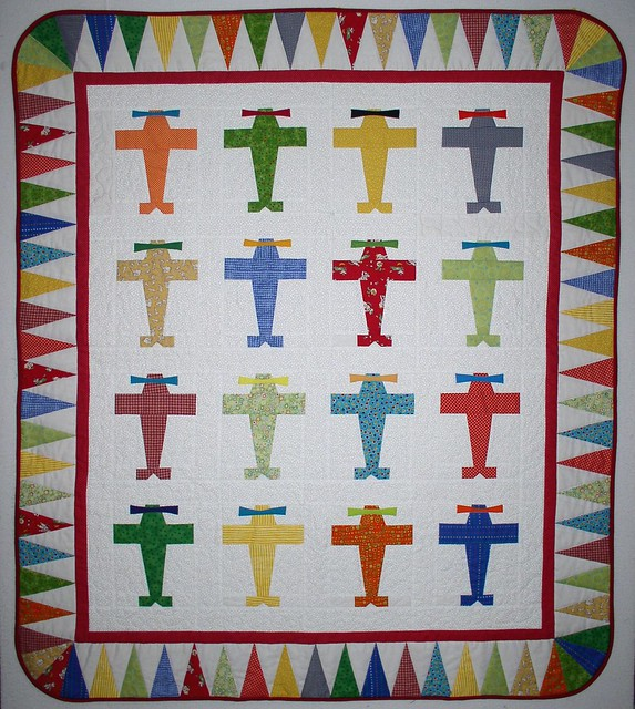 Amazon.com: By the Yard Vintage Airplanes Quilt Cotton Fabric