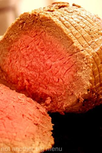 Roast beef meal 6