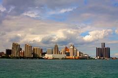 Detroit skyline from Windsor, ON photo by nature/প্রকৃতিপ্রেমিক